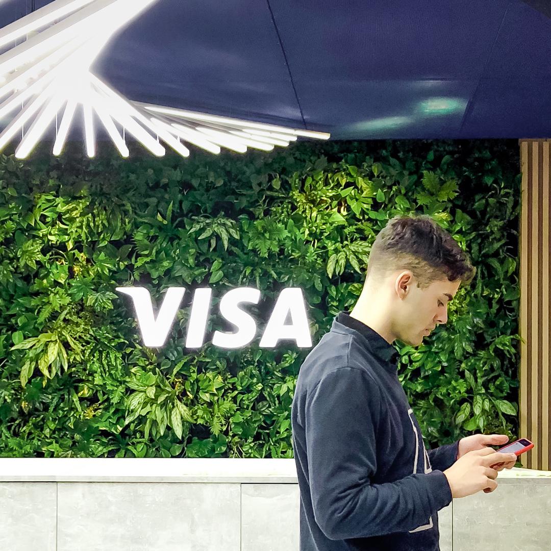 Stoisko targowe VISA